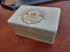 Коробка з індивідуальним логотипом