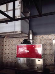 The hydraulic GFL-4 spark arrester, ...
