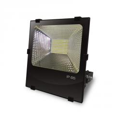 EUROELECTRIC LED SMD Прожектор черный с радиатором 100W 6500K арт. LED-FLR-SMD-100