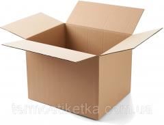 Коробка картонная 430х320х300 (Т21, трехслойная)