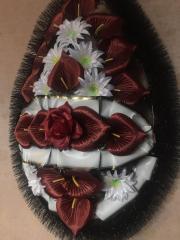 Венок похоронный (маска средняя) 145Х70