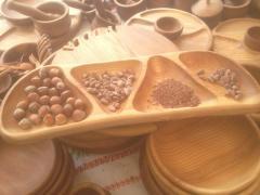 Эксклюзивная деревянная посуда
