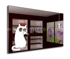 Зеркало Cat&Fish, LED подсветка