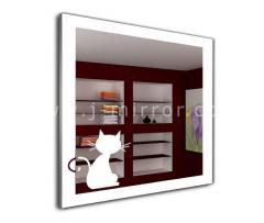 Зеркало Kitten, LED подсветка