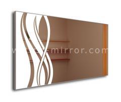 Зеркало Orchidea, LED подсветка