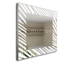 Зеркало Zebrano, LED подсветка