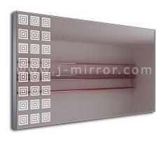 Зеркало Albina, LED подсветка