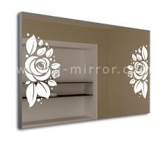Зеркало Rosa, LED подсветка