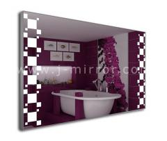 Зеркало Placida, LED подсветка