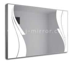 Зеркало Sabrina, LED подсветка