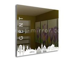 Зеркало Gent, LED подсветка