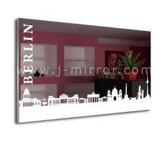 Зеркало Berlin, LED подсветка