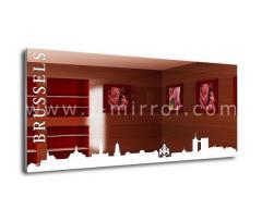 Зеркало Brussels, LED подсветка