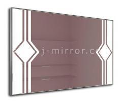 Зеркало Stella, LED подсветка