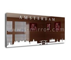 Зеркало Amsterdam, LED подсветка