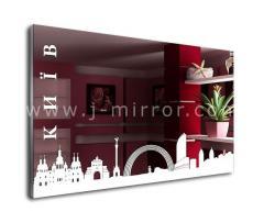Зеркало Kiev, LED подсветка