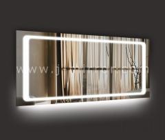 Зеркало Adele + нижний амбилайт