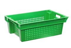 Ящик пластиковый перфорированный 600x400x200мм