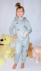 Children's suit for the house, sport and