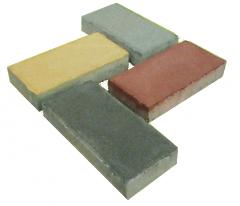 Вибропрессованная плитка Кирпич - 40