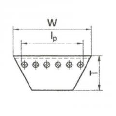 Ремень клиновый вентиляторный ГОСТ 5813-93