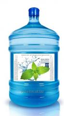 "Malomidska"" the deep-well water bottled 18,9l with delivery by request Khmelnytskyi"