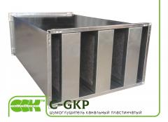 Пластинчатый канальный шумоглушитель C-GKP-100-50