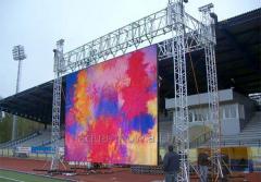 Светодиодный уличный видео экран PH5 outdoor SMD