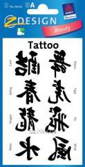 Татуировка с иероглифами