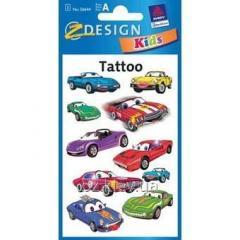 Татуировка с машинами