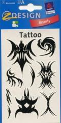 Татуировка сабстрактными узорами