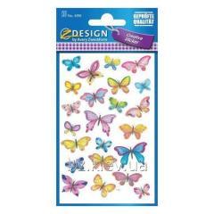 Наклейки с изображениями бабочек