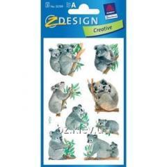 Наклейки с изображениями коалы