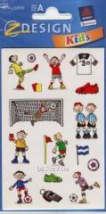 Наклейки с изображениями футбольной тематики