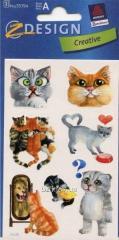 Наклейки с котиками