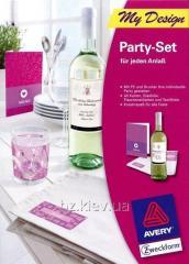 Набор для вечеринки Avery, MD5002