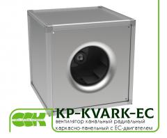 Фен квадратна рамка-панел с ЕО-моторни KP-KVARK-EC-50-50-2-380