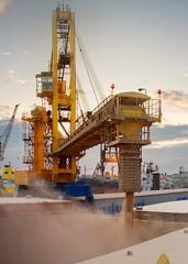 Оборудование судопогрузочное большой продуктивности