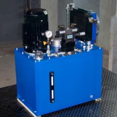 Hydrostation. Maslostantion. The unit is pump