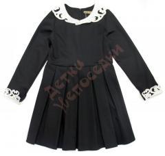 Платье школьное для девочки с воротничком