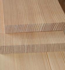 Доска строганная из лиственницы (27 мм)