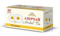 Чай Азерчай травяной, Ромашка 20 пак.
