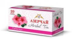 Чай Азерчай травяной гибискус 20 пак.