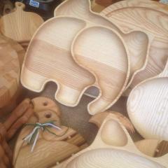 Раздельная тарелка в виде слоника