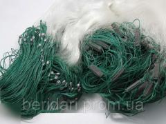 Рыболовная сеть 1.8х100м. Ячейка 16 Одностенка (
