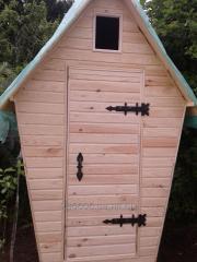 Country toilet model Teremok