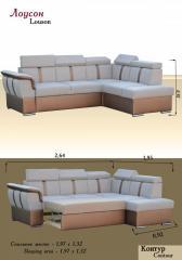 Angular sofa
