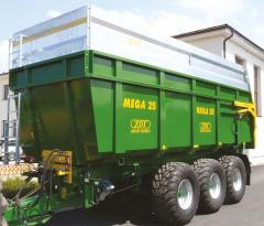 Trailers and semitrailers for grain haulage