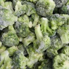 The frozen broccoli cabbage