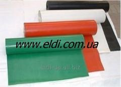 Fiber glass fabric with silicone 0,25kh1200mm color red